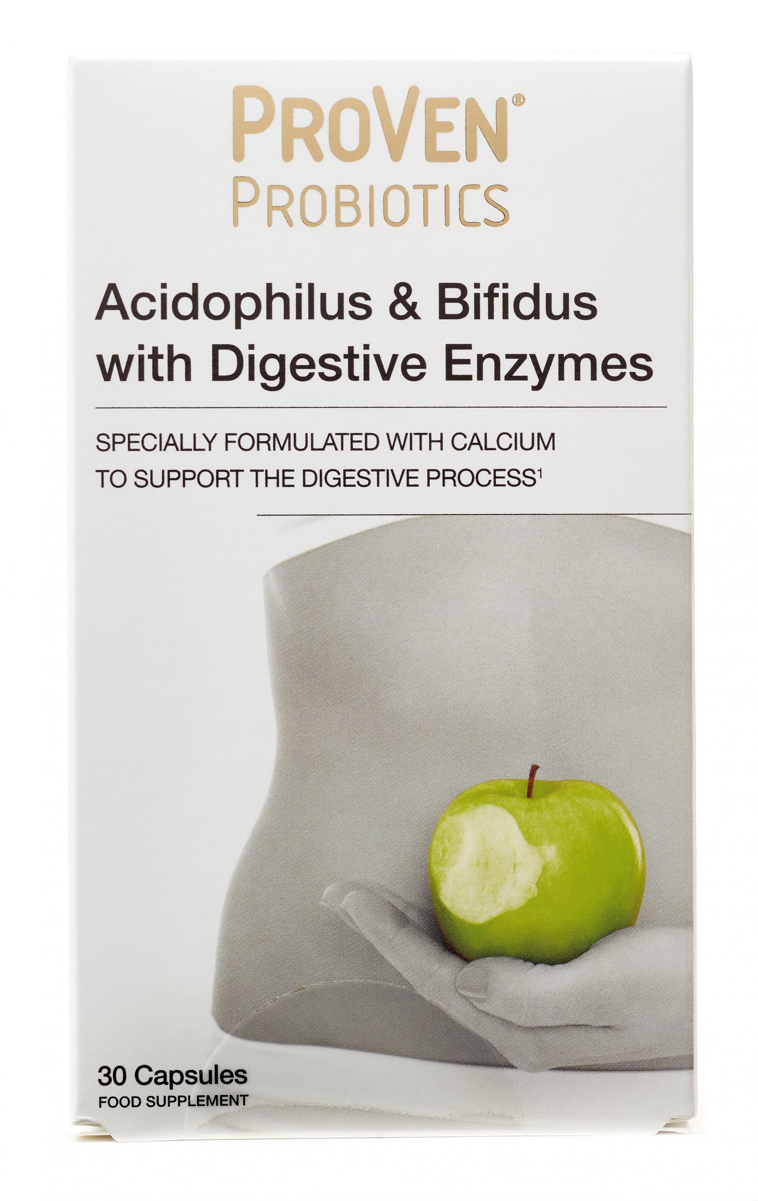 Acidophilus & Bifidus with Digestive Enzymes 30's