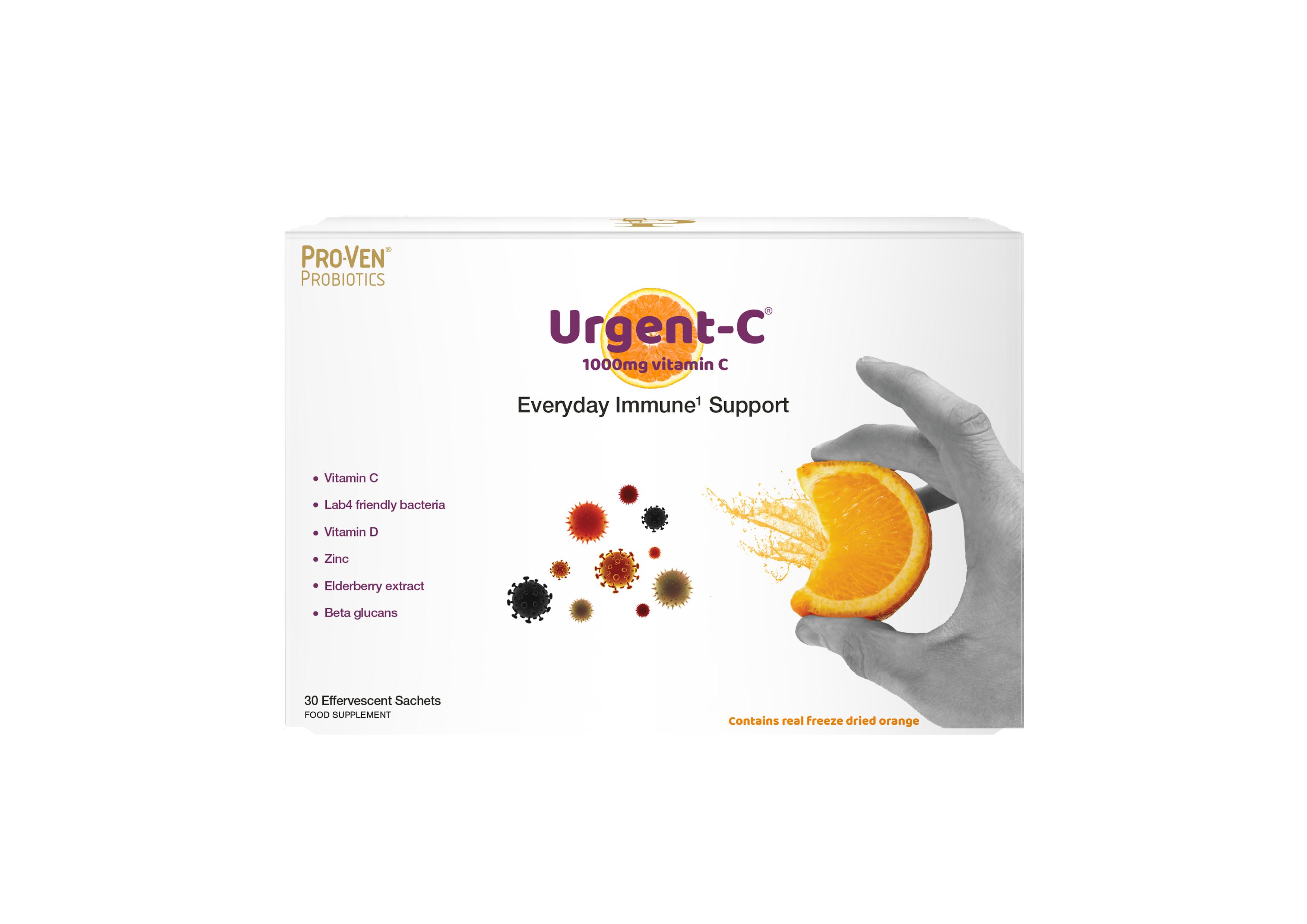 Urgent-C Everyday Immune Support 30 Sachets
