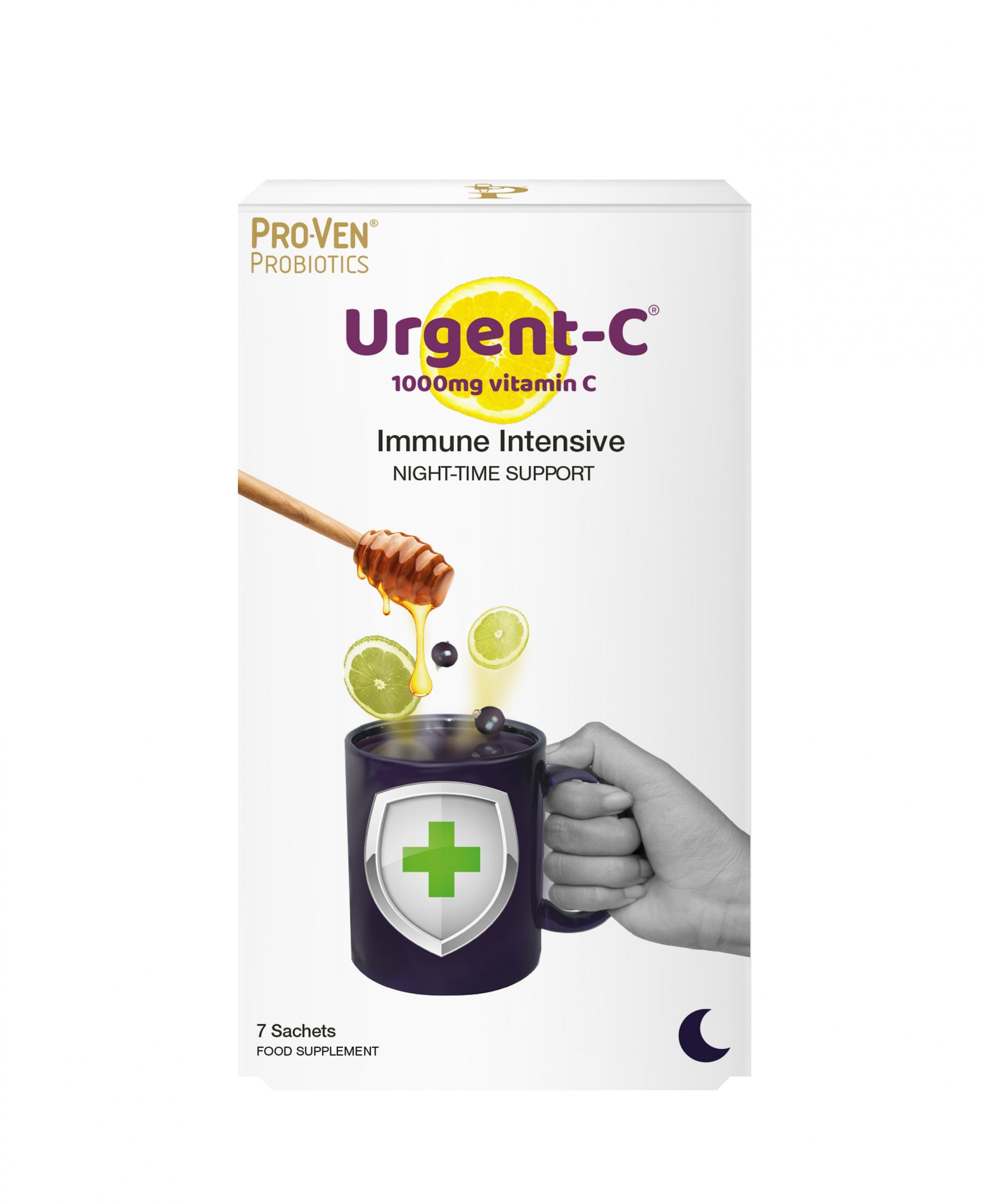 Urgent-C Immune Intensive Night-Time Support 7 Sachets