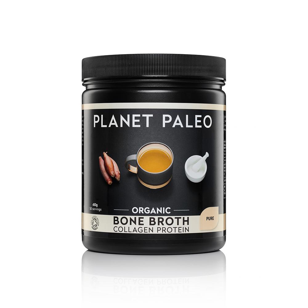 Organic Bone Broth Collagen Protein Pure 450g