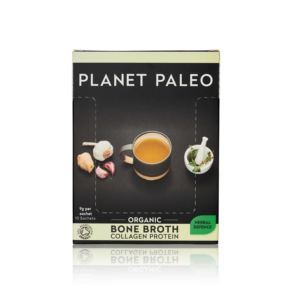 Organic Bone Broth Collagen Protein Herbal Defence CASE 10's