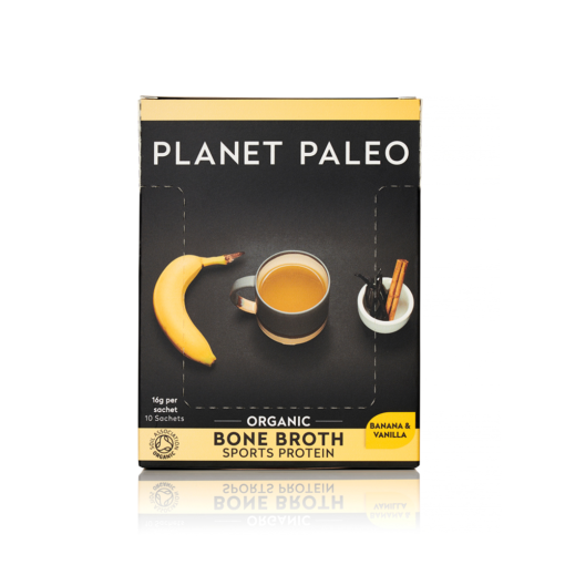 Organic Bone Broth Sport Protein Vanilla & Banana SINGLE SACHET