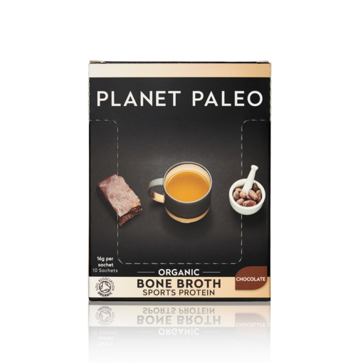 Organic Bone Broth Sport Protein Chocolate CASE 10's