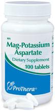 Mag-Potassium Aspartate 100's