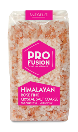 Himalayan Rose Pink Salt - Coarse 500g