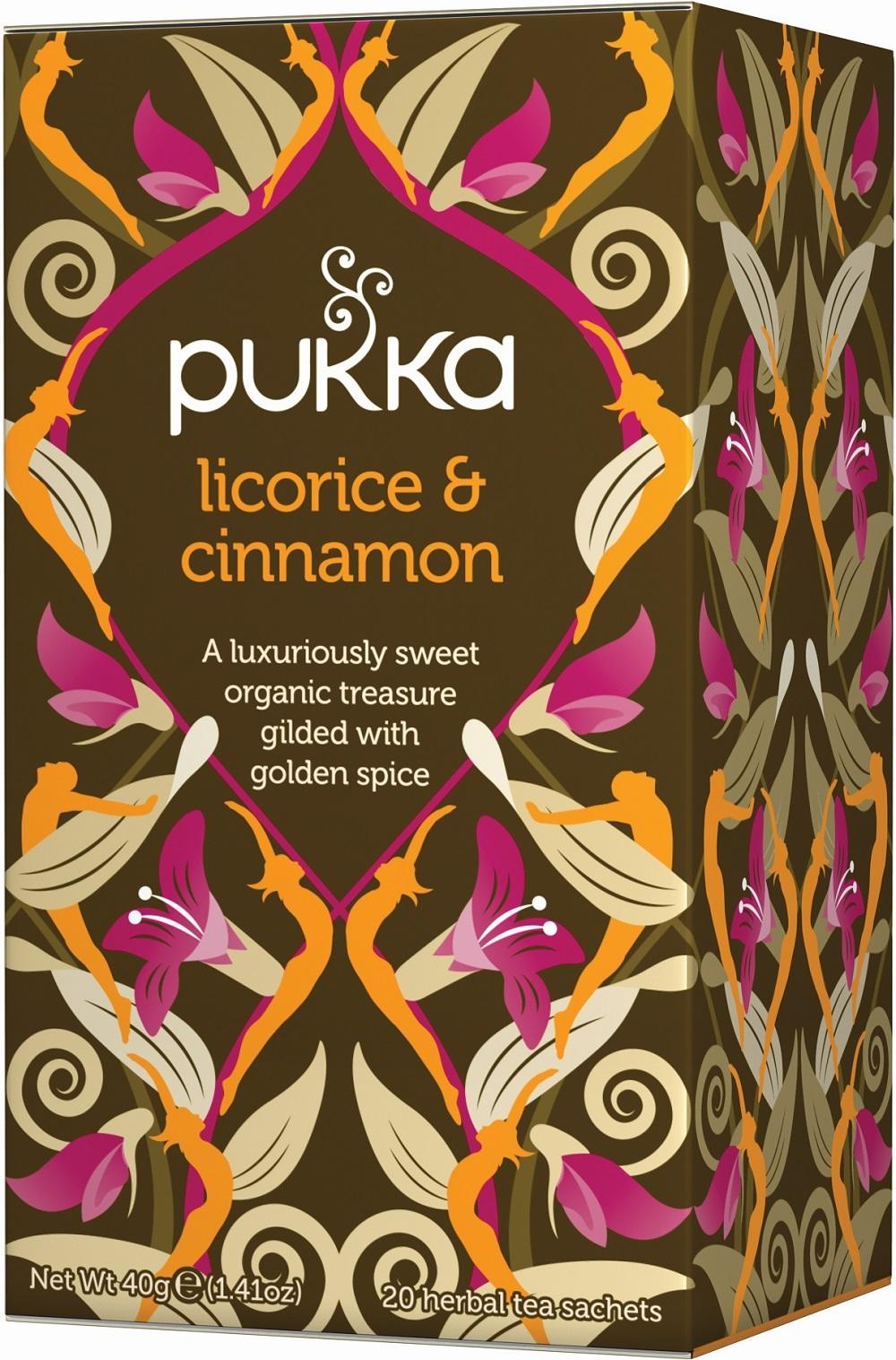 Licorice & Cinnamon Tea