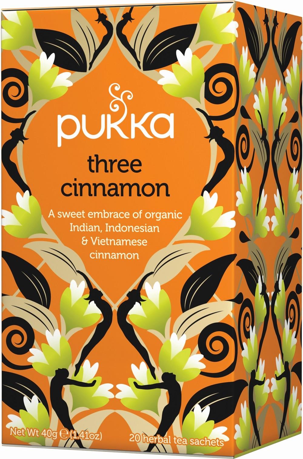 Three Cinnamon Tea