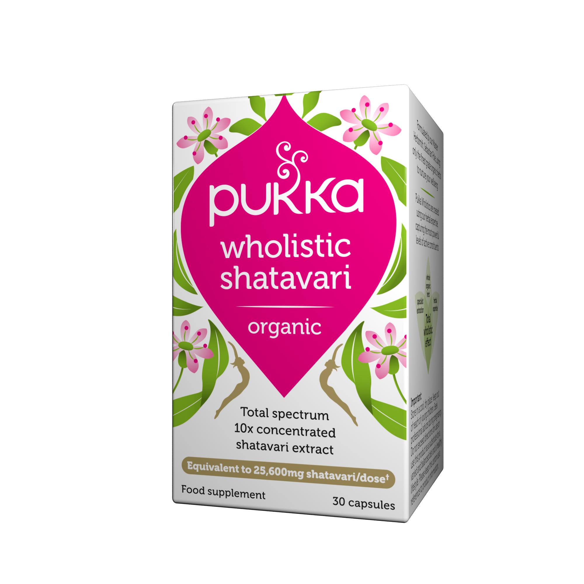 Wholistic Shatavari Organic 30's