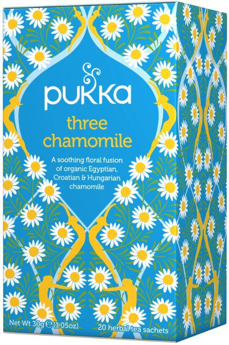 Three Chamomile Tea