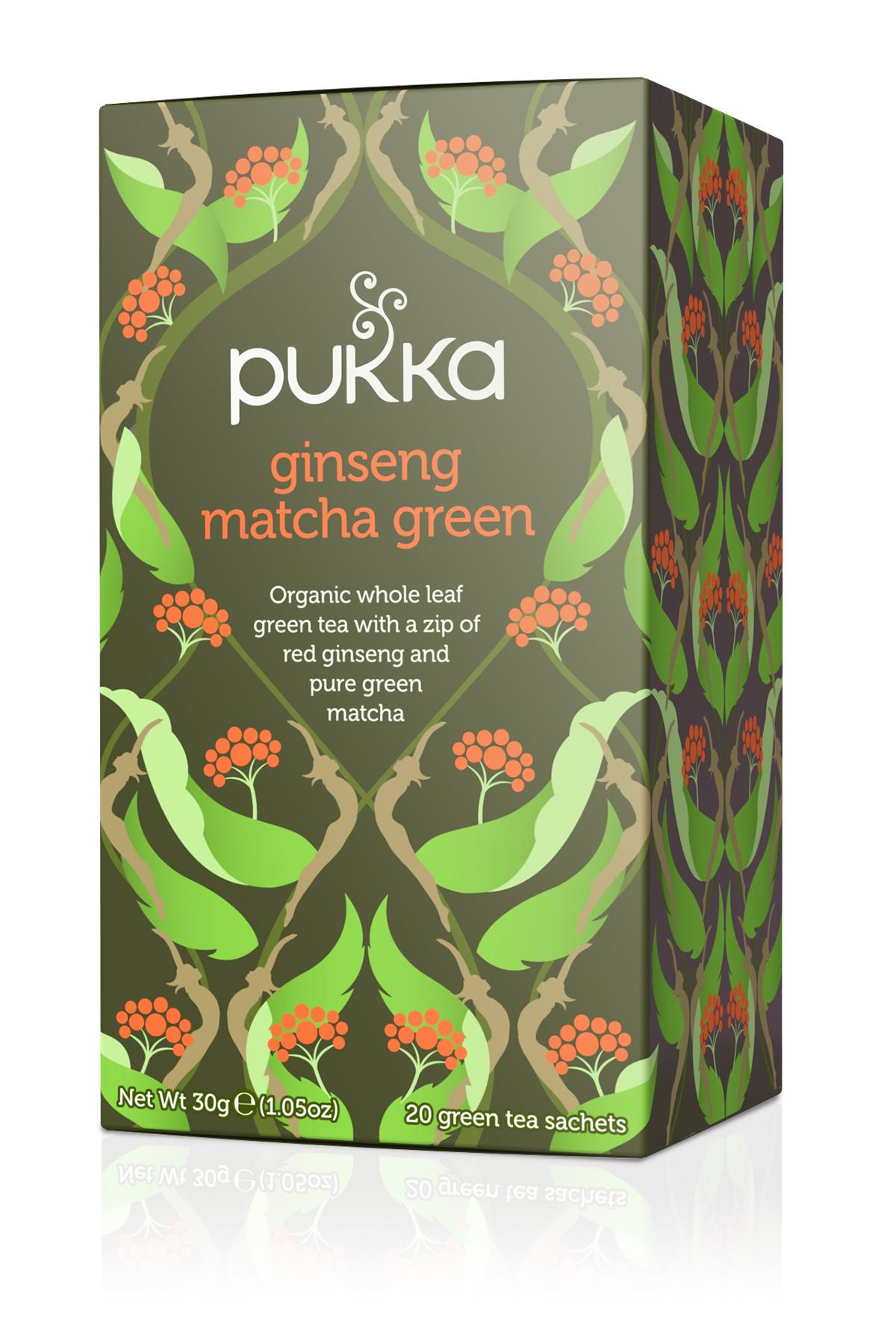 Ginseng Matcha Green Tea