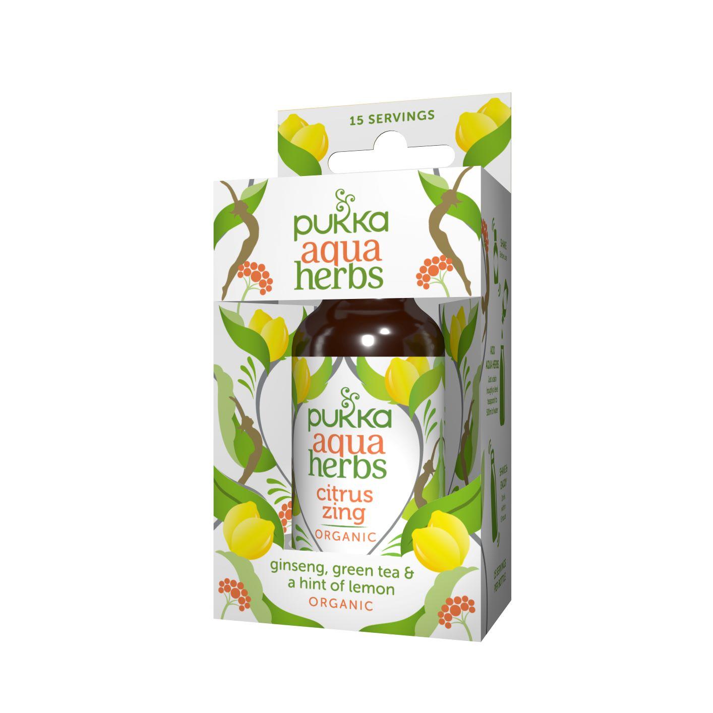 Aqua Herbs Citrus Zing 30ml