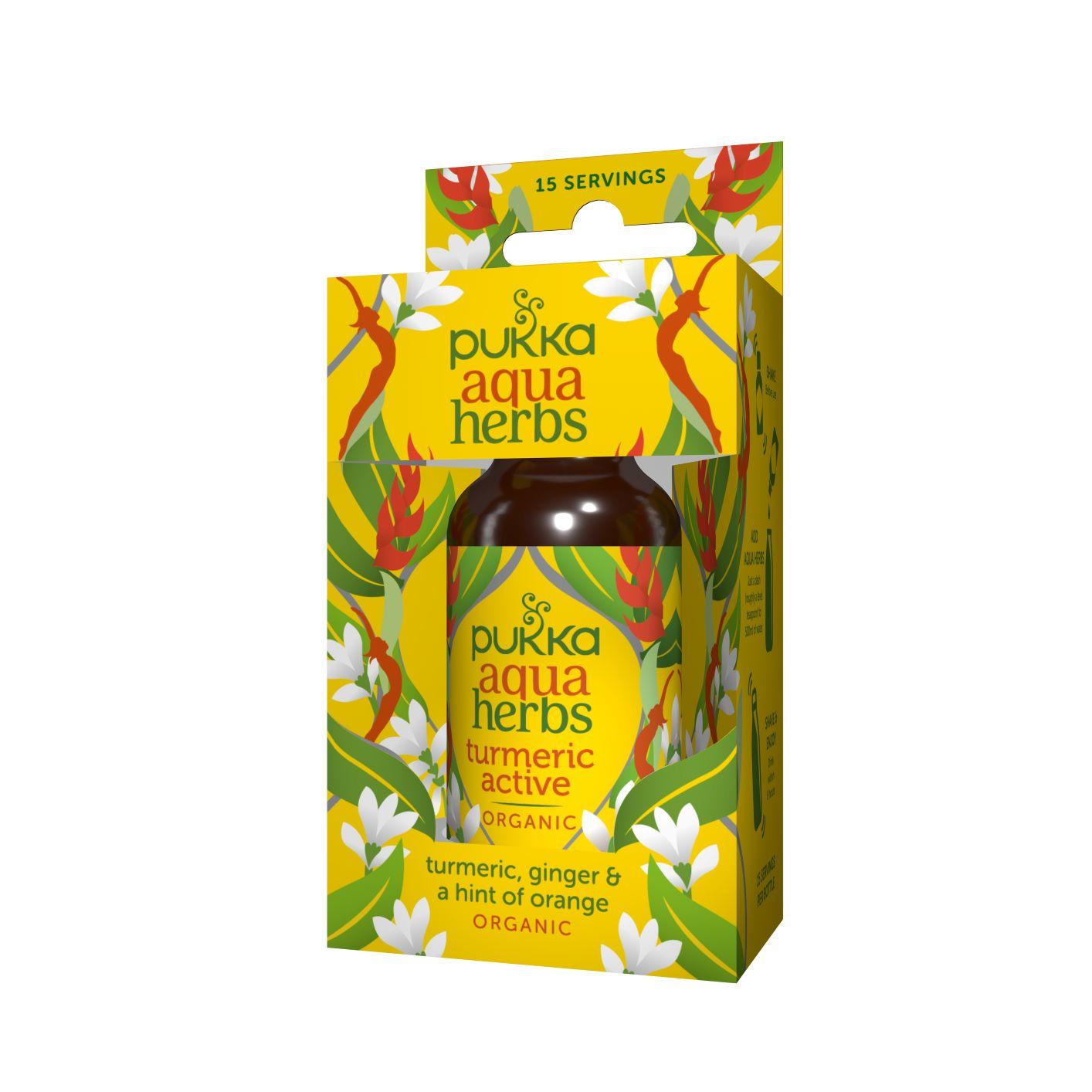 Aqua Herbs Turmeric Active 30ml