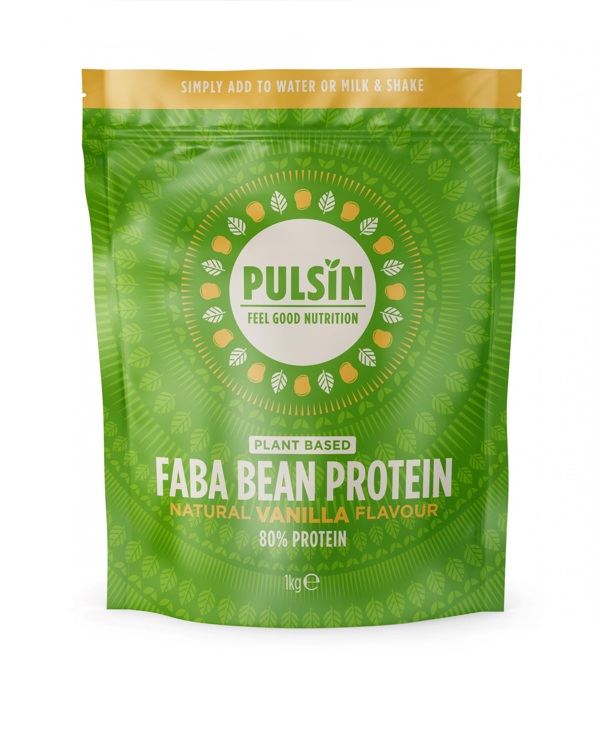 Faba Bean Protein Natural Vanilla Flavour (Plant Based) 1kg