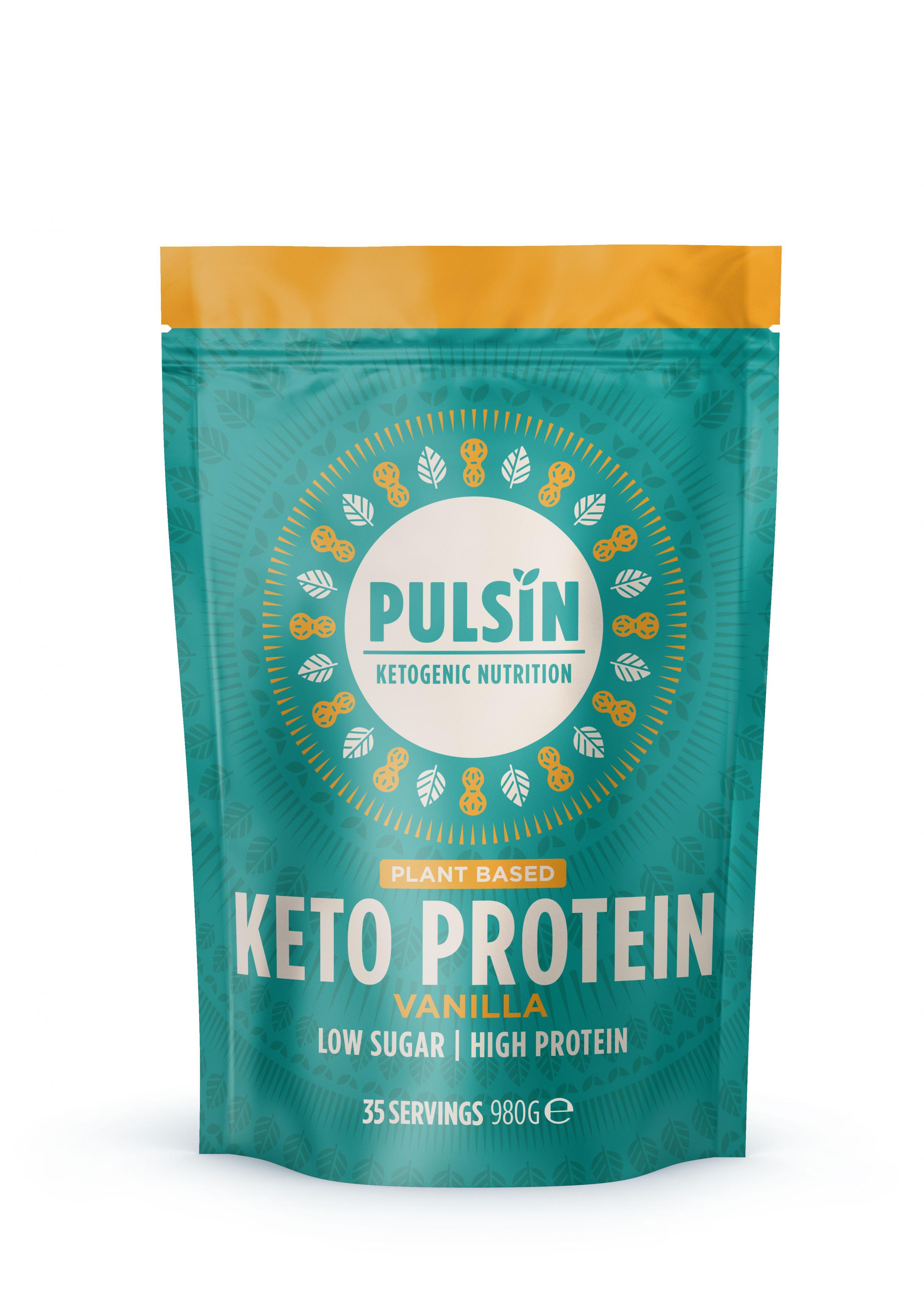 Keto Protein Vanilla 980g
