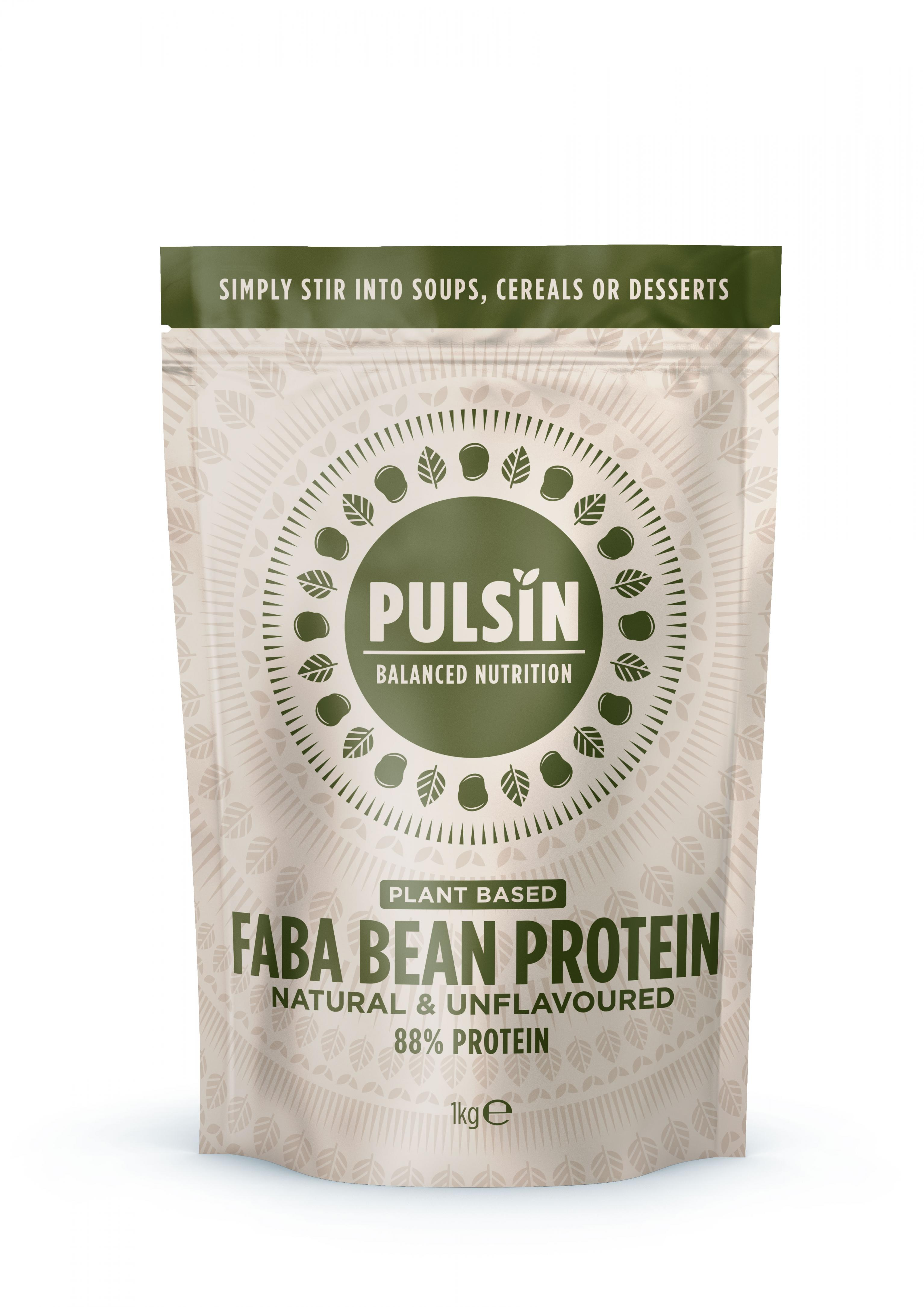 Faba Bean Protein Natural & Unflavoured 1kg
