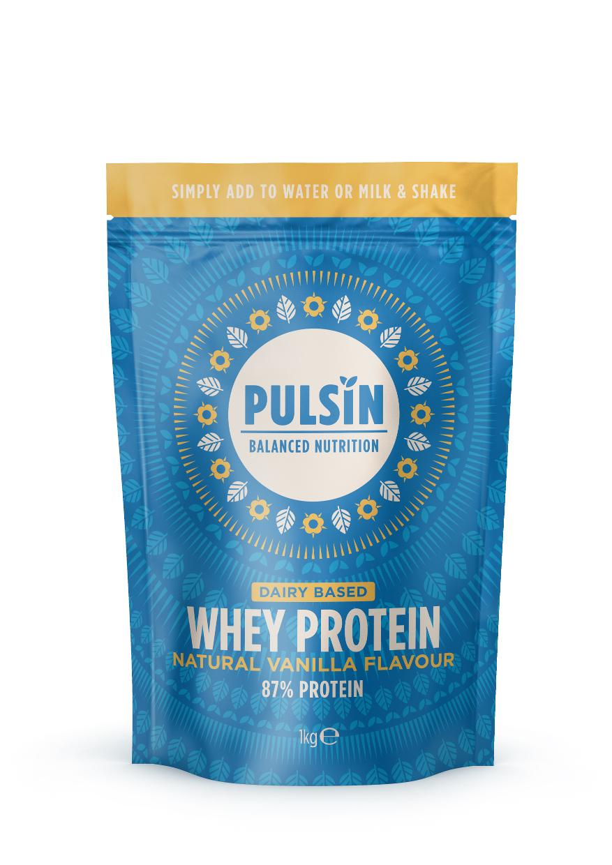 Whey Protein Natural Vanilla Flavour 1kg