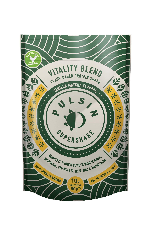 Supershake Vitality Blend Vanilla Matcha 300g
