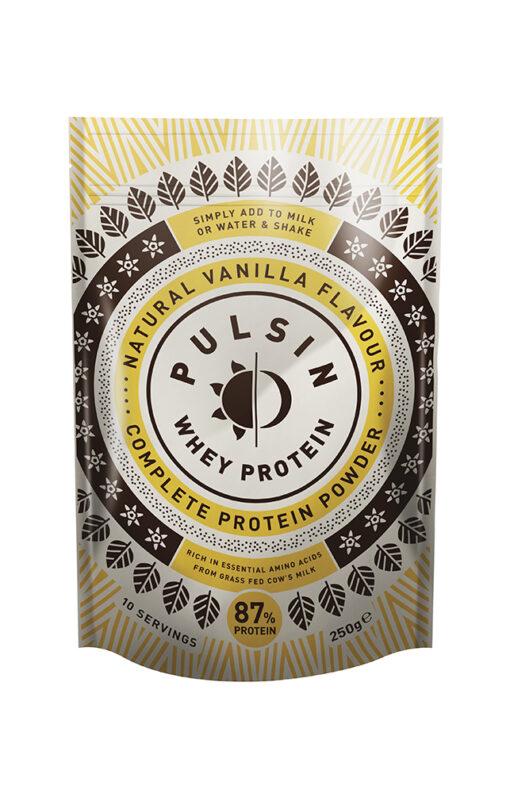 Natural Vanilla Flavour Whey Protein 250g