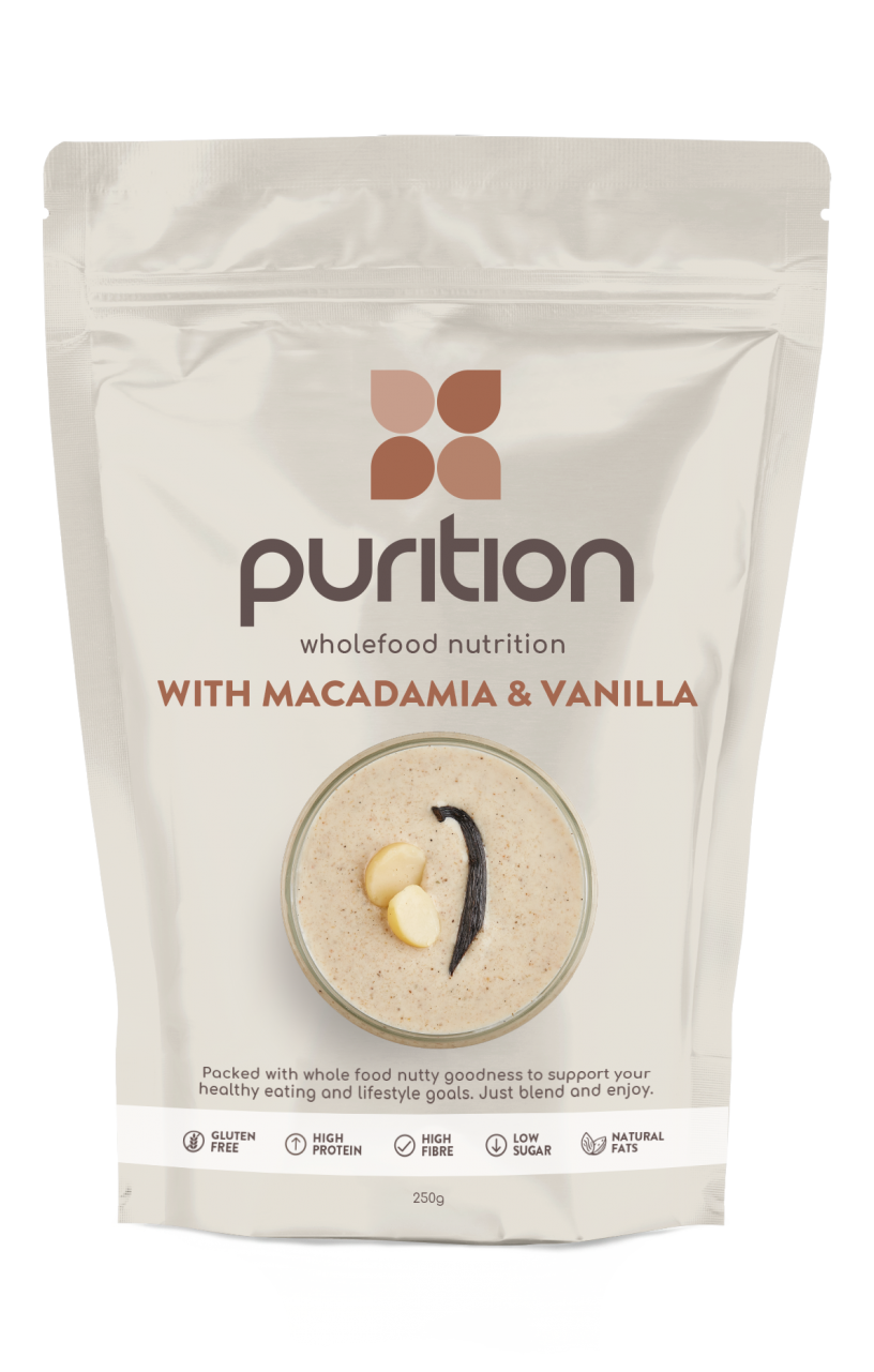 Wholefood Nutrition With Macadamia & Vanilla 250g