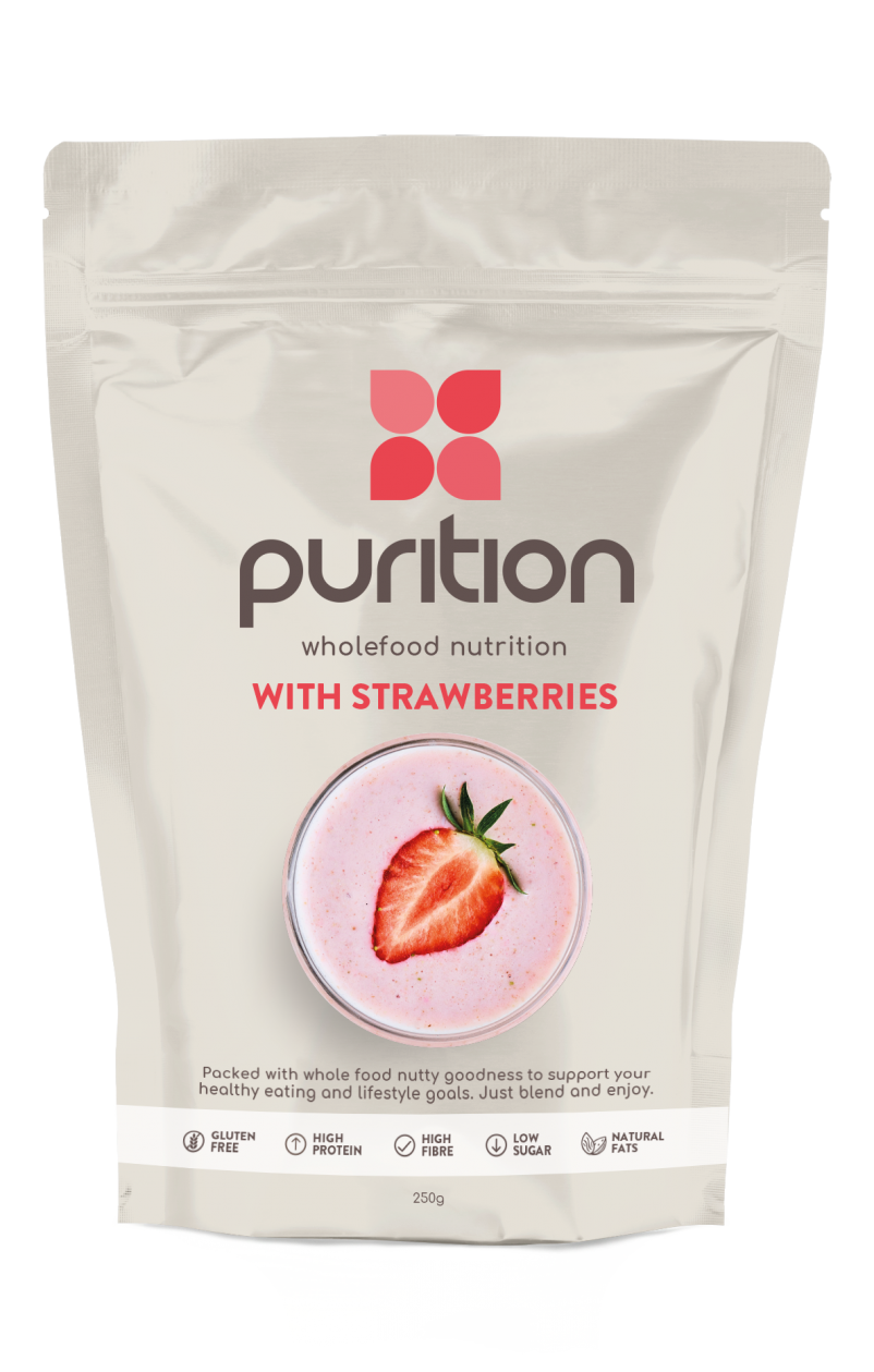 Wholefood Nutrition With Strawberries 250g