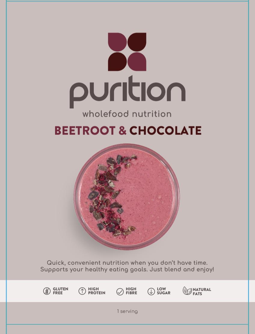 Wholefood Nutrition Beetroot & Chocolate SINGLE SACHET 40g