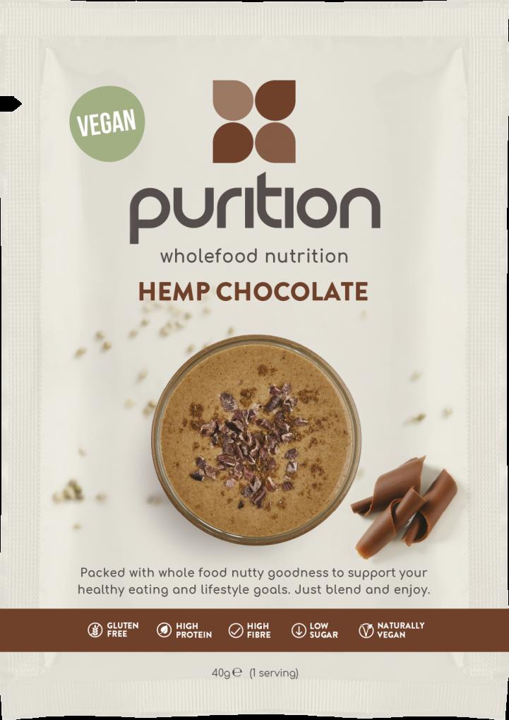 VEGAN Wholefood Nutrition Cacao SINGLE SACHET 40g