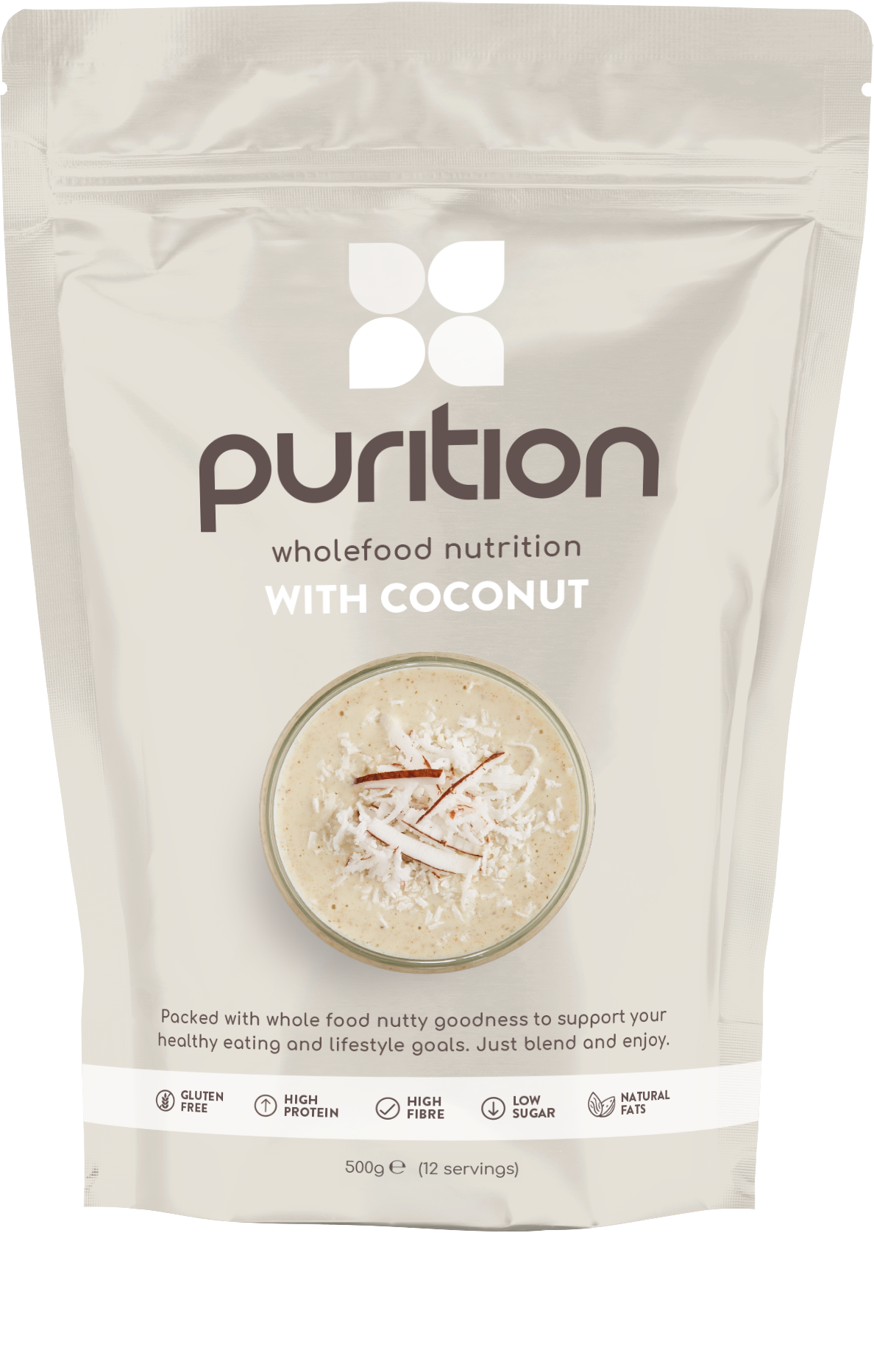 Wholefood Nutrition With Coconut 500g