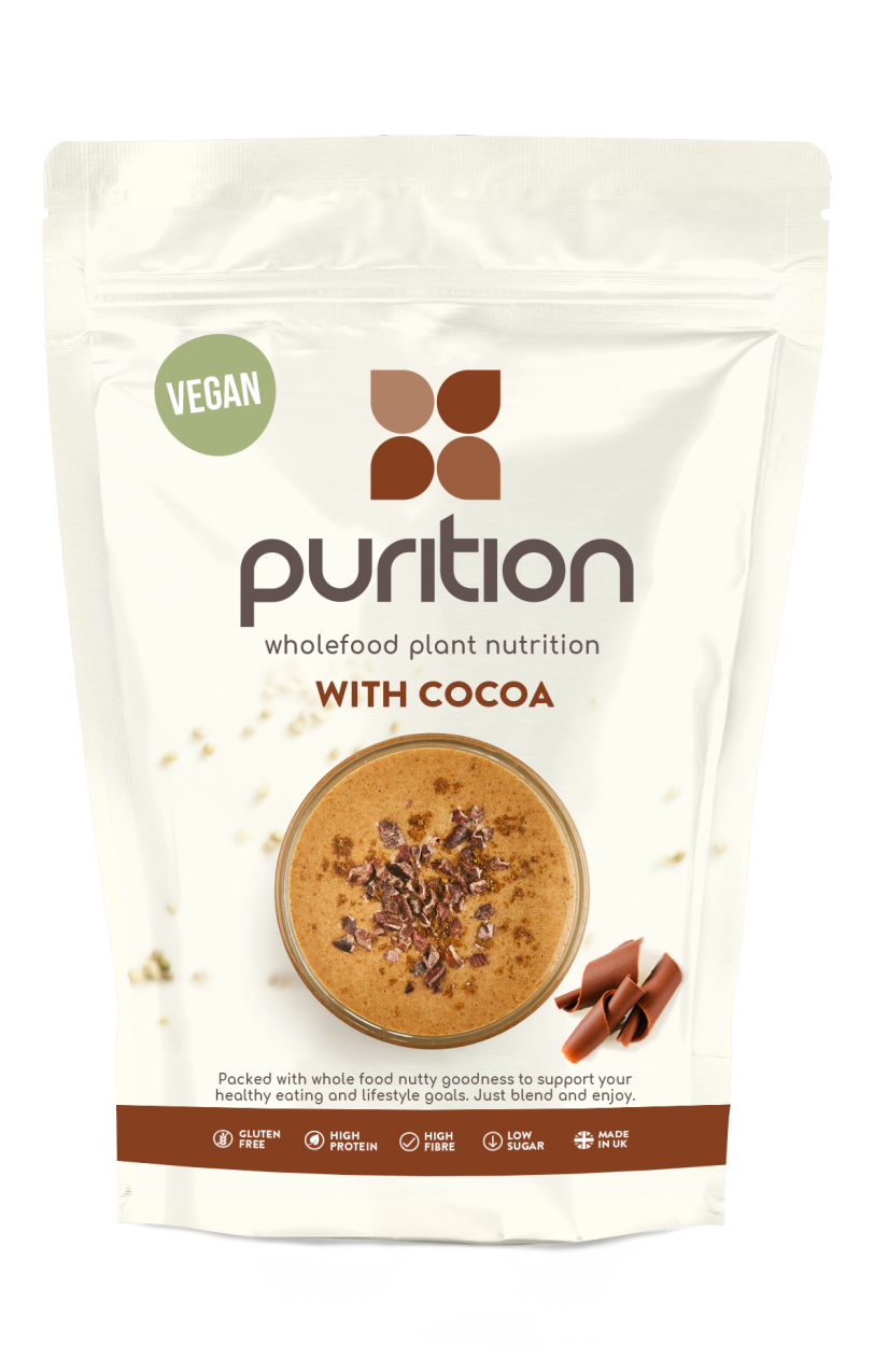 VEGAN Wholefood Plant Nutrition With Cocoa 250g