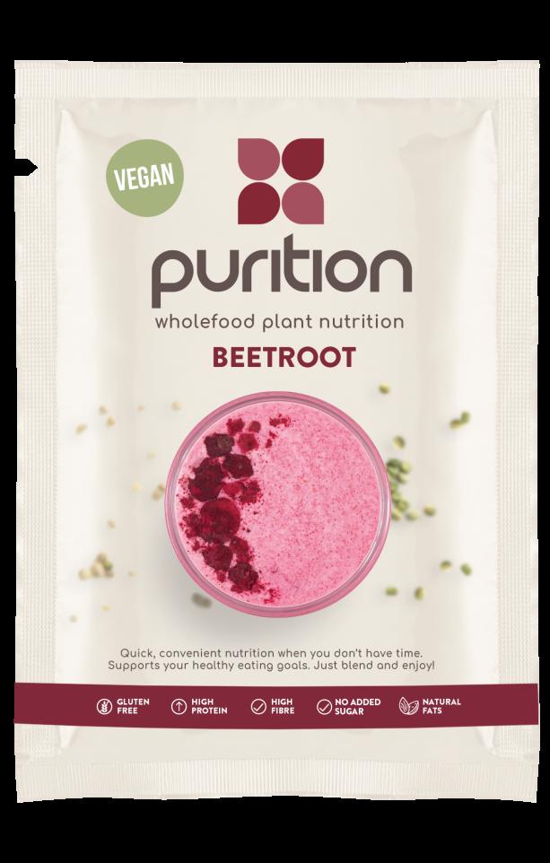 VEGAN Wholefood Plant Nutrition Beetroot SINGLE SACHET 40g