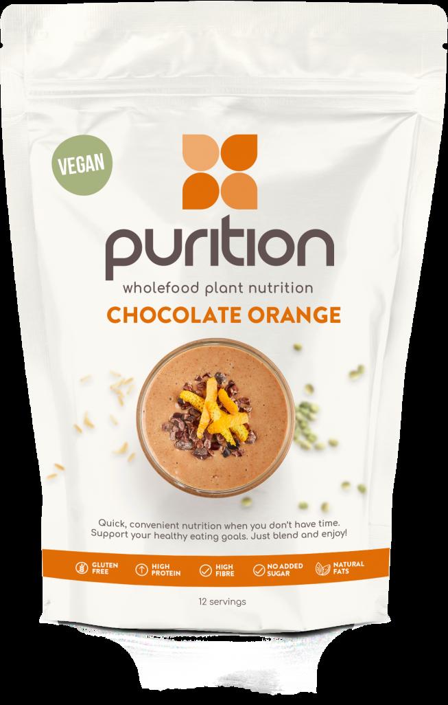 VEGAN Wholefood Plant Nutrition Chocolate Orange 500g
