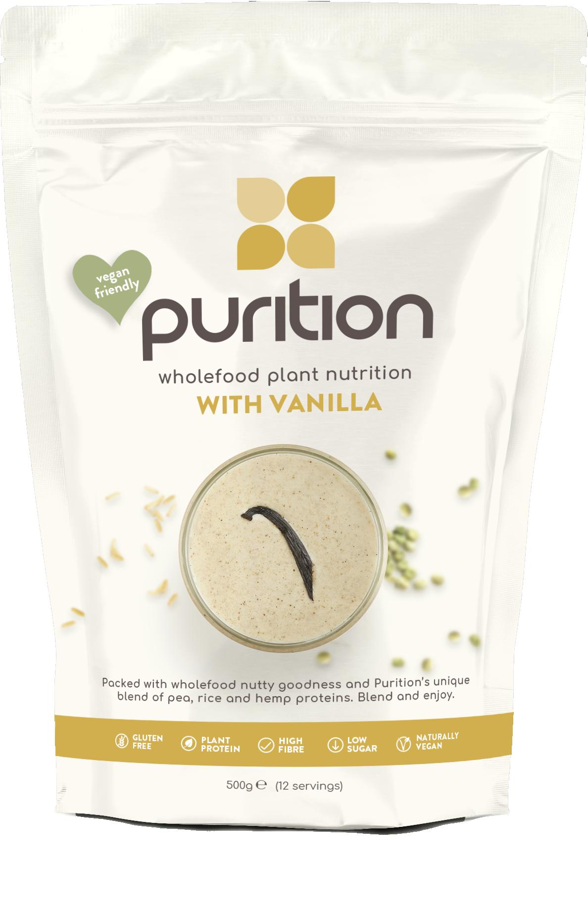 VEGAN Wholefood Plant Nutrition With Vanilla 500g