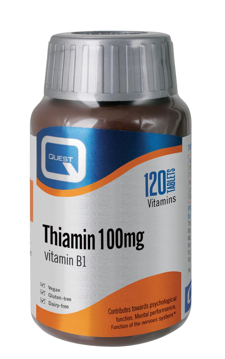 Thiamin (Vitamin B1) 100mg 120's