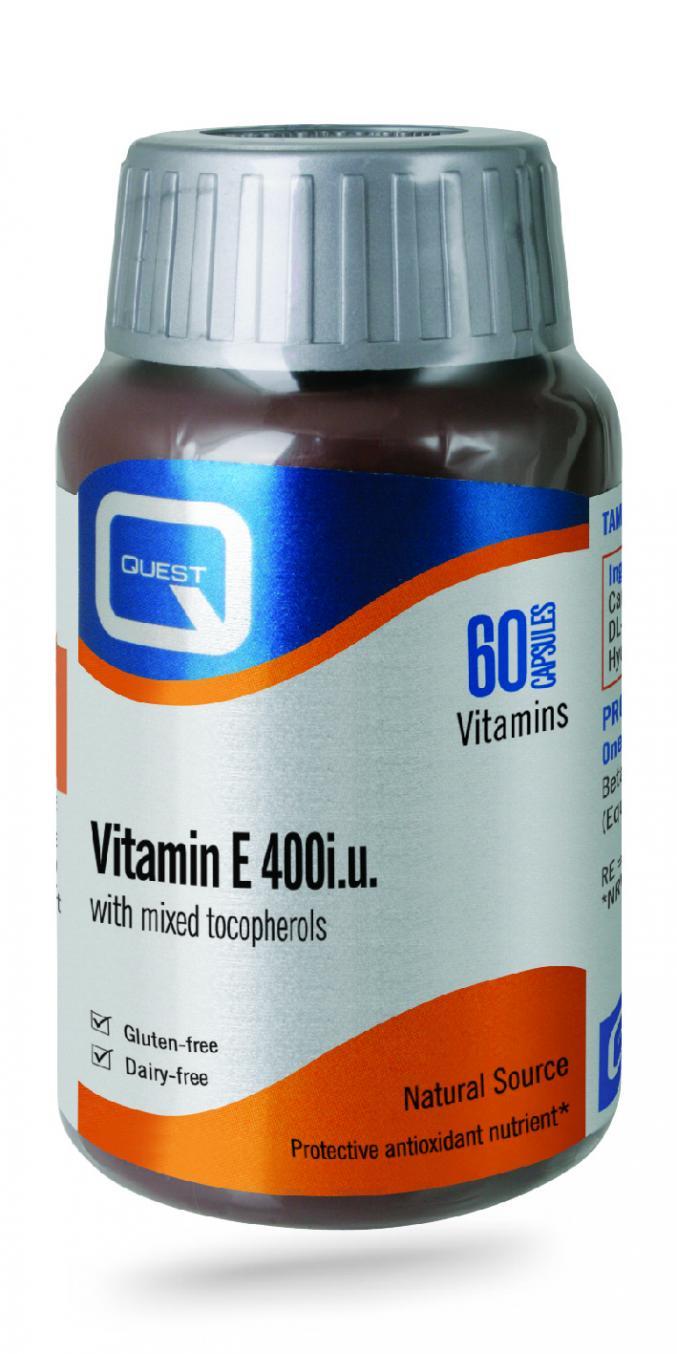 Vitamin E 400iu 60's