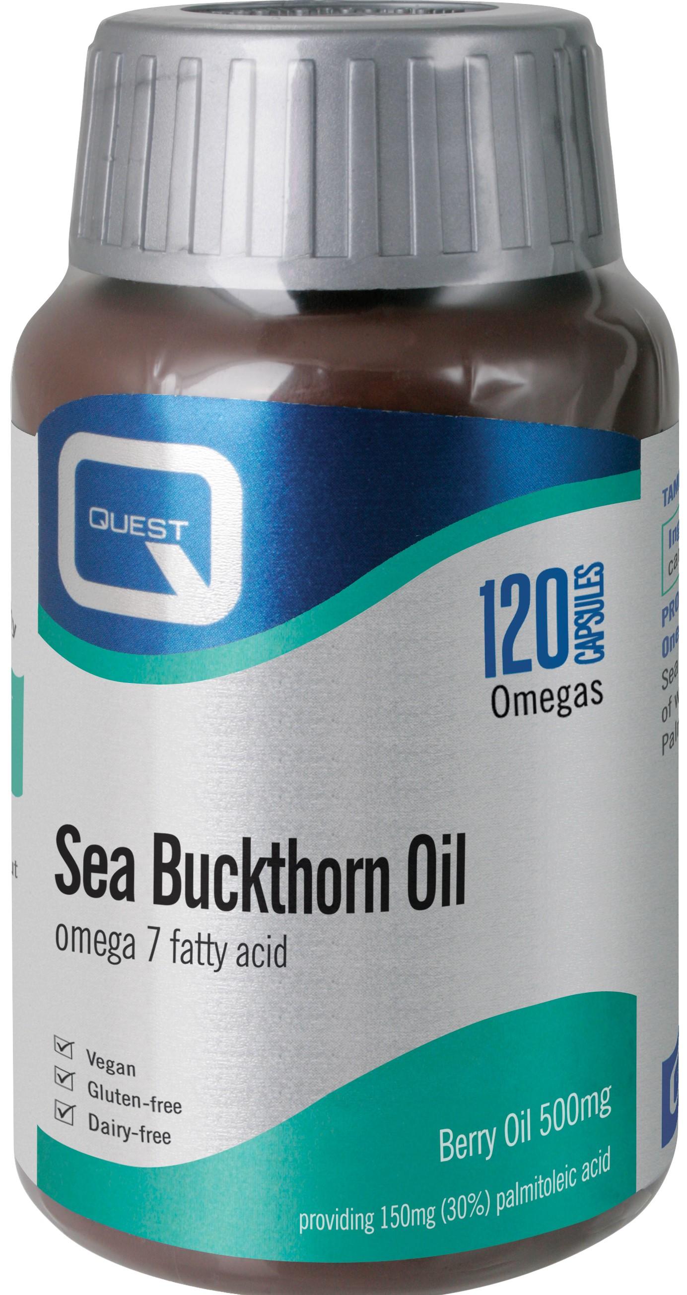 Sea Buckthorn Oil 120's