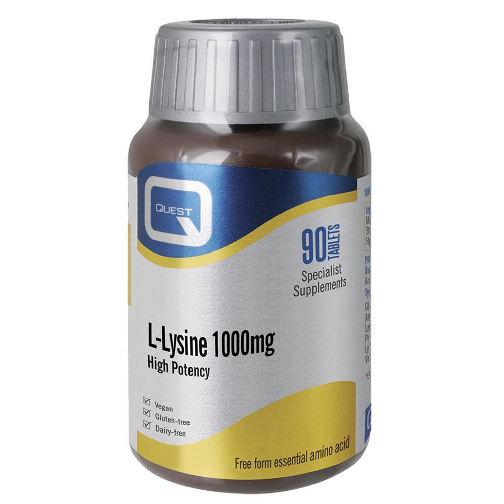 L-Lysine 1000mg 90's