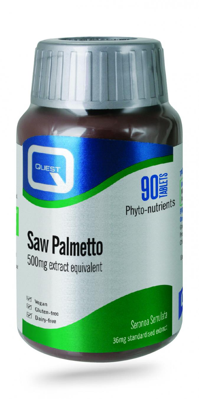 Saw Palmetto 36mg Extract 90's