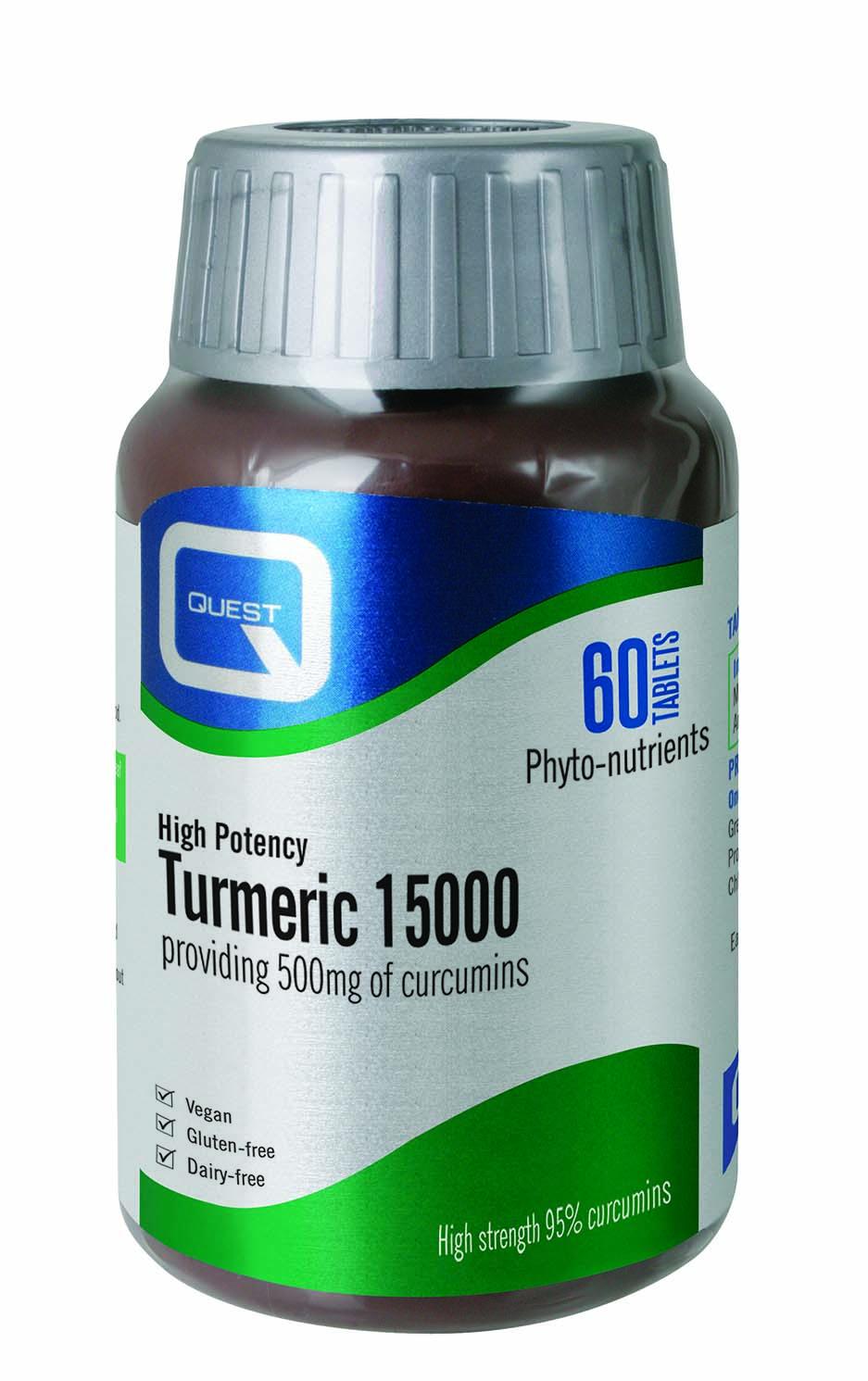 Turmeric 15000 60's
