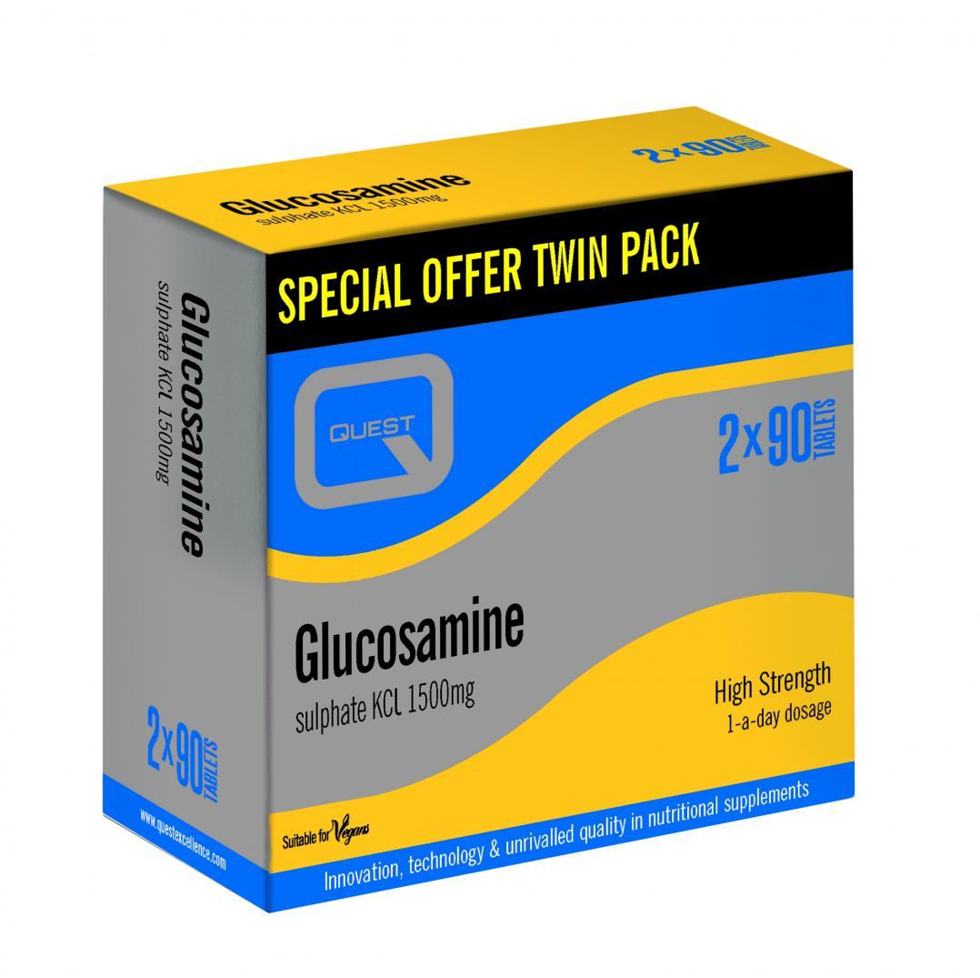 Glucosamine Sulphate KCL 1500mg (TWIN PACK)