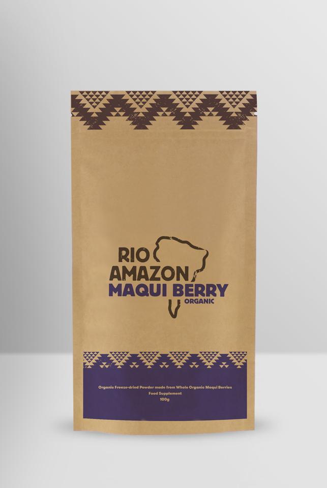 Maqui Berry Powder Organic 100g