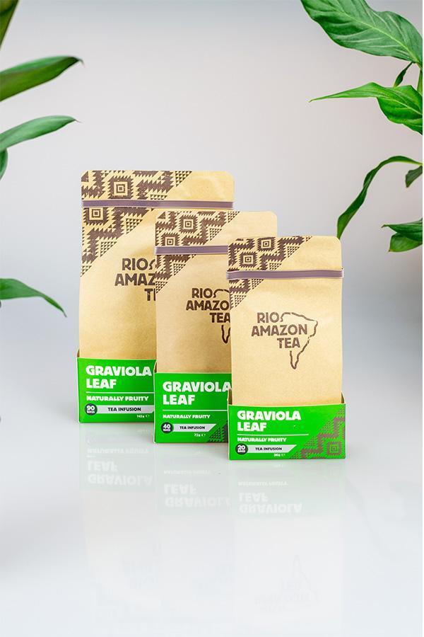 Graviola Leaf Teabags 20's