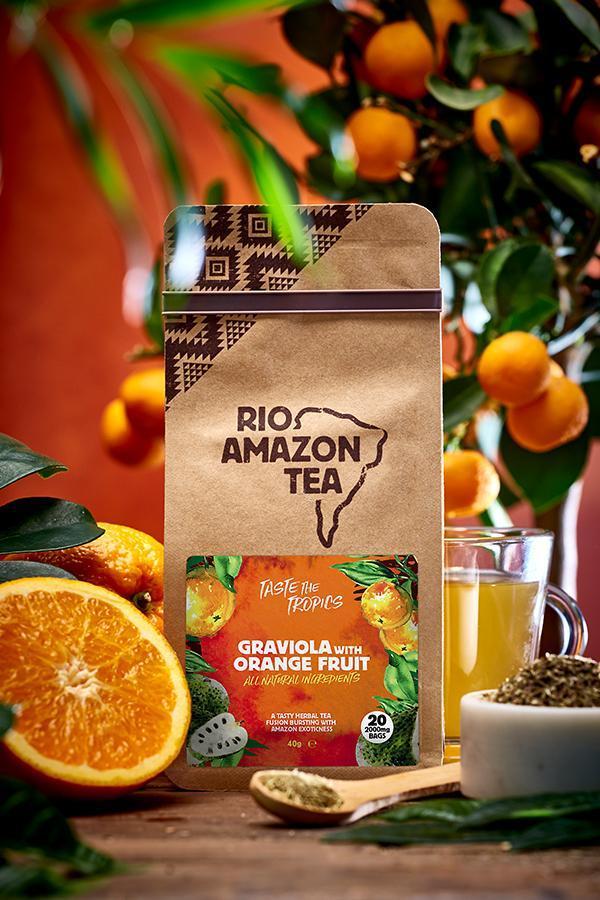 Graviola With Orange Fruit Teabags 40's