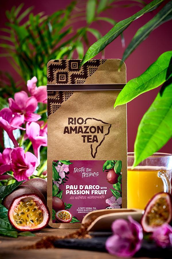 Pau d'Arco With Passion Fruit Teabags 40's