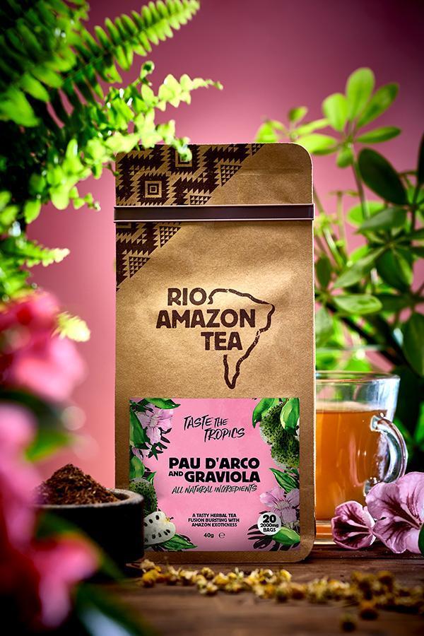 Pau d'Arco And Graviola Teabags 40's