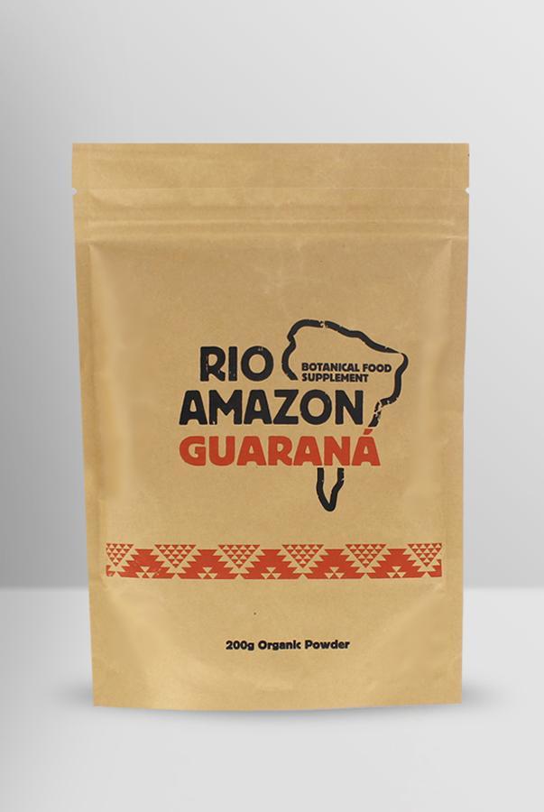 Organic Guarana Powder 200g