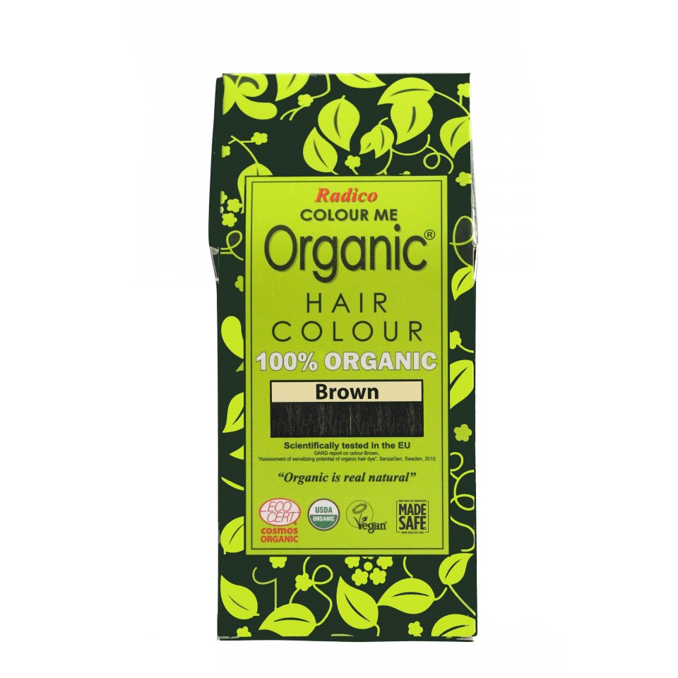 Organic Hair Colour Brown 100g