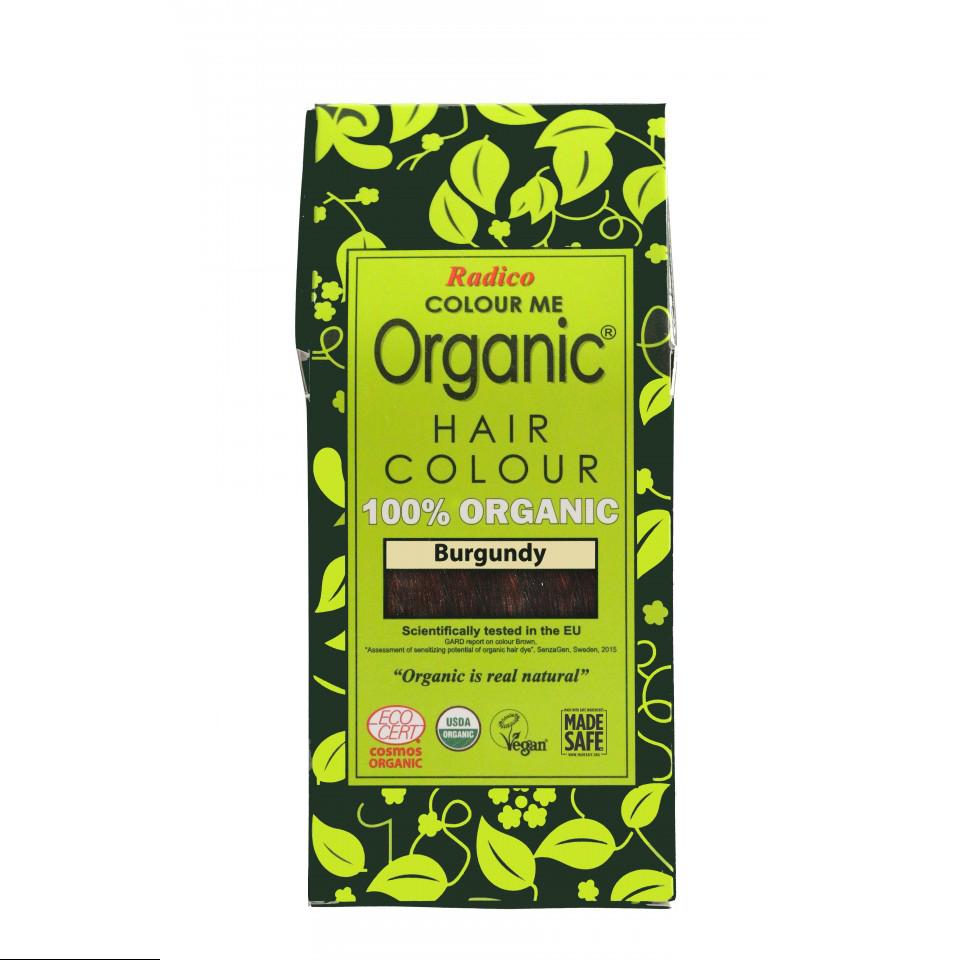 Organic Hair Colour Burgundy 100g