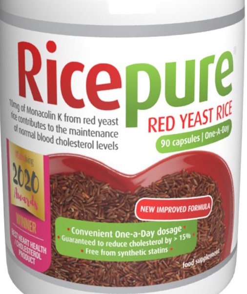 Red Yeast Rice Capsules One-a-Day 90's