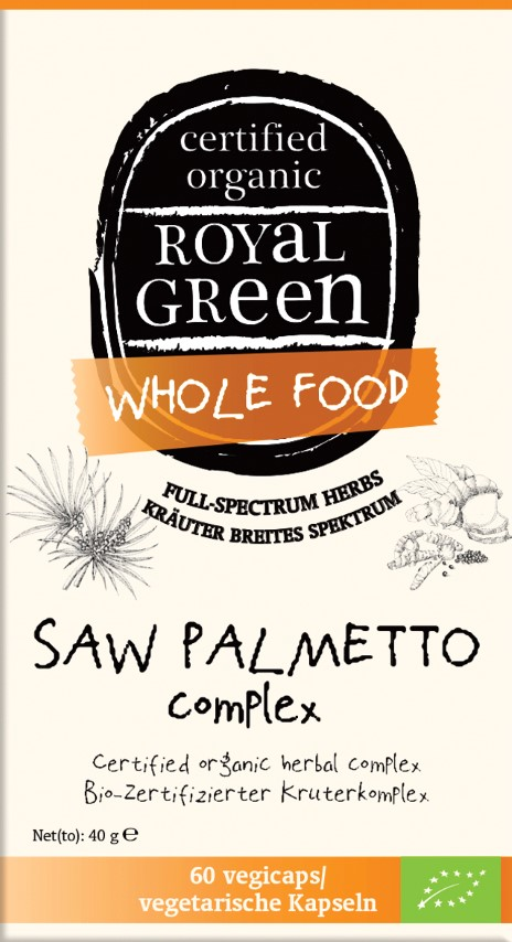 Saw Palmetto Complex 60's (Currently Unavailable)