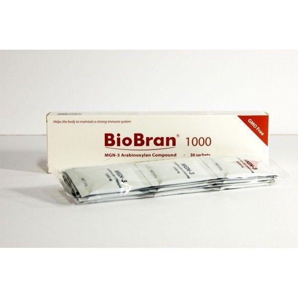 BioBran 1000mg 30 sachets