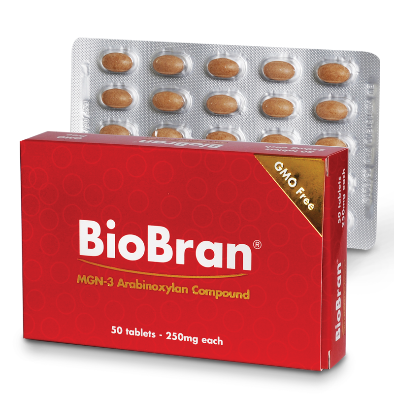 BioBran 250mg 50 tablets